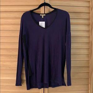 Bordeaux long sleeve shirt